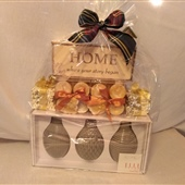 6. Home decor accessories -candles, guest soaps, mini vases